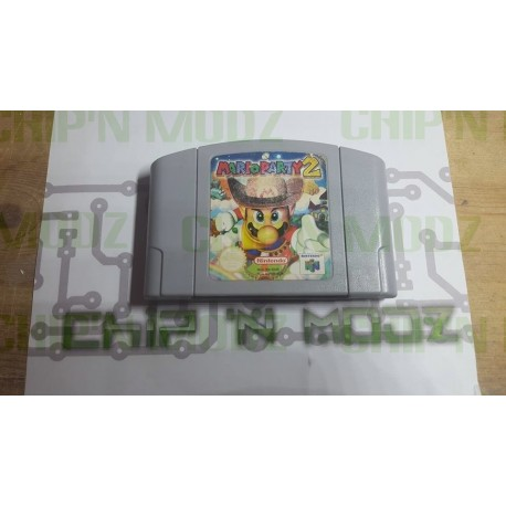 Mario Party 2 - En loose - Nintendo 64, Version Française (PAL) - Bon état