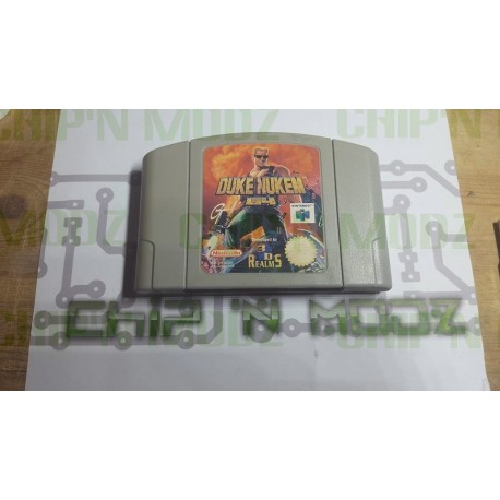Duke Nukem 64- En loose - Nintendo 64, Version Française (PAL) - État moyen