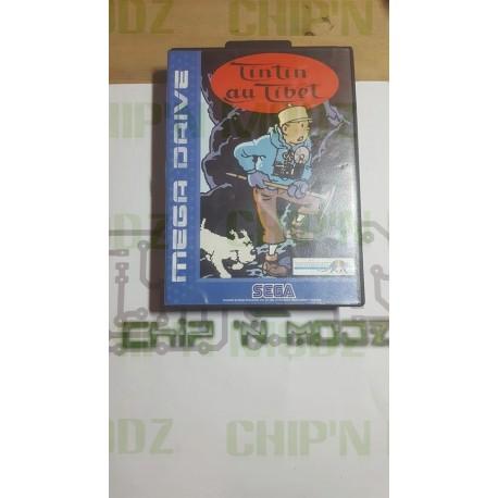 Tintin au Tibet - Megadrive - Complet - Très bon état