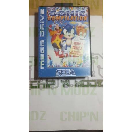 Sonic Compilation - Megadrive - Complet - Très bon état
