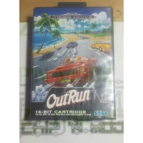 OutRun - Megadrive - Complet - Très bon état
