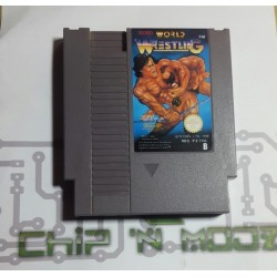 Tecmo World Wrestling - NES (PAL) - En loose - Bon état