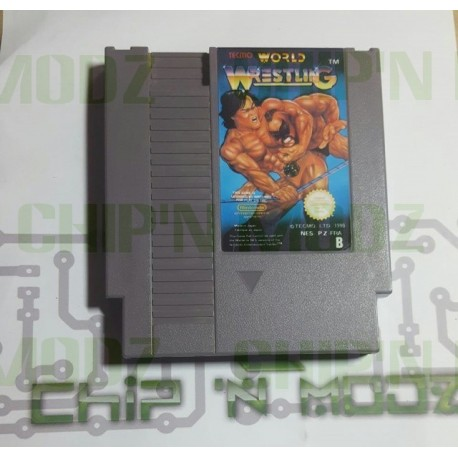 Tecmo World Wrestling - NES - En loose - Bon état