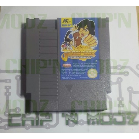 Jacke Chan Action Kung Fu- NES - En loose - Bon état