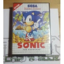 Sonic The Hedgehog - Master system - En boite, sans notice