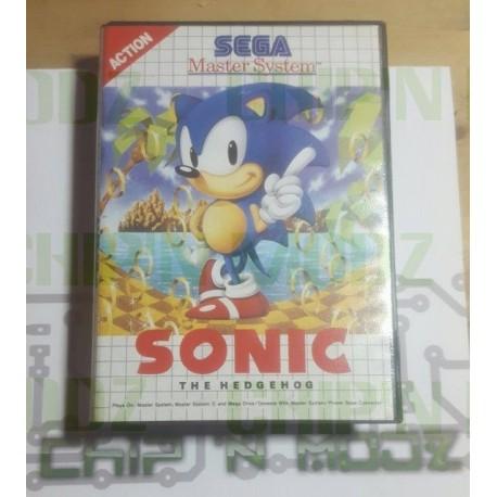 Sonic The Hedgehog - Master system - En boite, sans notice