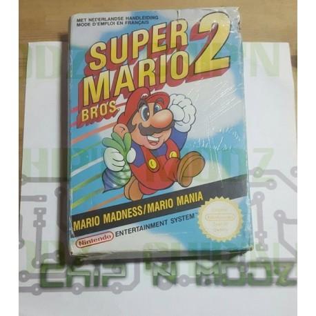 Super Mario Bros 2 - NES (PAL) - En boite- État moyen