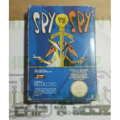 Spy vs Spy - NES (PAL) - En boite - COMPLET - État moyen
