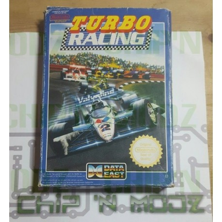 Turbo Racing - NES (PAL) - En boite- État moyen