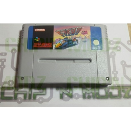 F-Zero - Super Nintendo - En loose - Bon état
