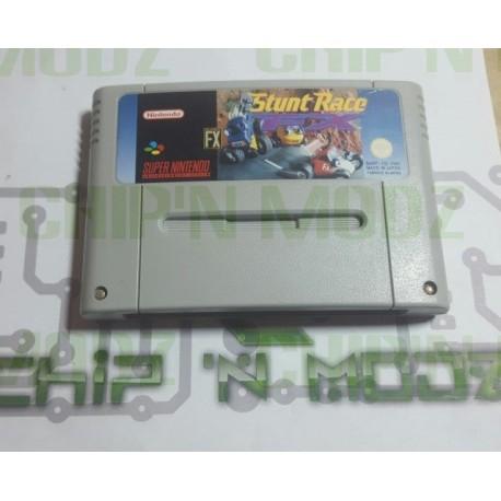 Stunt Race FX - Super Nintendo - En loose - État moyen