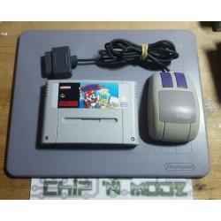Mario Paint + Souris + Tapis - Super Nintendo - En loose - Bon état