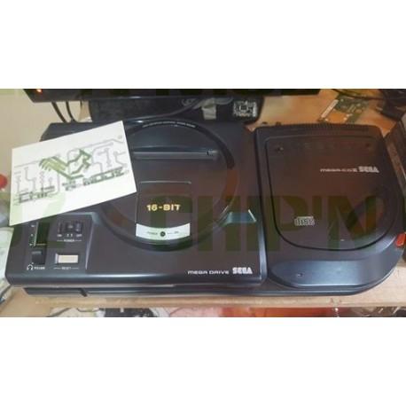 Megadrive + Mega CD II - Bon état