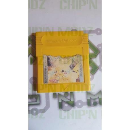 Pokémon Jaune - Gameboy - En loose - Étiquette abimée