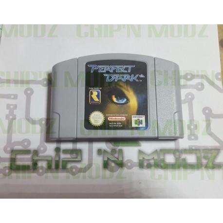 Perfect Dark - En loose - Nintendo 64, Version PAL - Bon état
