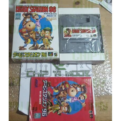 Derby Stallion '96 - Super Famicom / Satellaview (JAP) - COMPLET