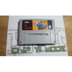 Exhaust heat - Super Nintendo - En loose - Bon état