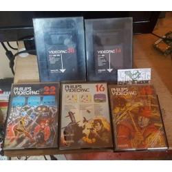 Lot de 5 jeux Phillips VideoPac