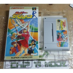 Super Family Tennis - Super Famicom (JAP) - Sans Notice