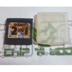 Sonic 2 in 1 - Gamegear - En loose, avec boitier