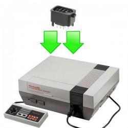 Réparation port manette Nintendo NES