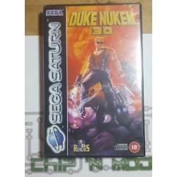 Duke Nukem 3D - COMPLET -SEGA Saturn