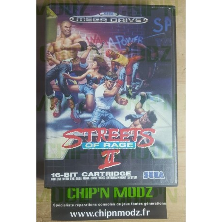 Street Of Rage II - Megadrive - En boite, sans notice
