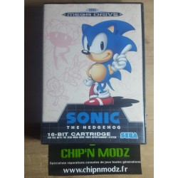 Sonic The Hedgehog - En boite, sans notice