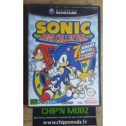 Sonic Mega Collection - Sans notice - Bon état - Gamecube - Version PAL