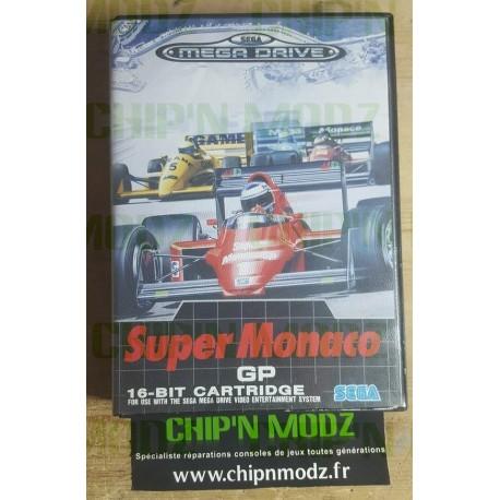 Super Monaco GP - Megadrive - Complet - Bon état