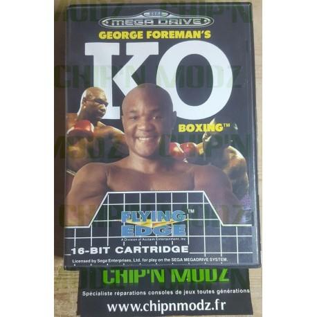 Georges Foreman's K.O Boxing - Megadrive - En boite, sans notice - Bon état