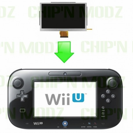 Réparation écran LCD Wii-U Gamepad