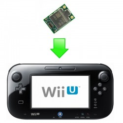Réparation carte/module Bluetooth/Wifi (WLAN) WiiU - Gamepad