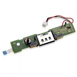 Port de charge (Dock) avec PCB (carte électronique - Nintendo Wii U