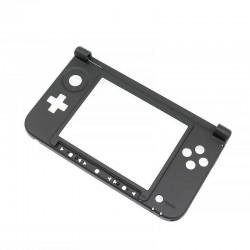 Coque / charnière de remplacement 3DS XL - partie basse - Noire