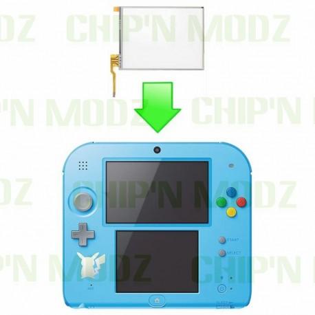 Réparation vitre tactile écran 2DS