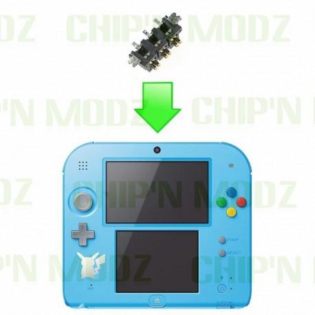 Réparation connecteur de batterie Nintendo 2DS
