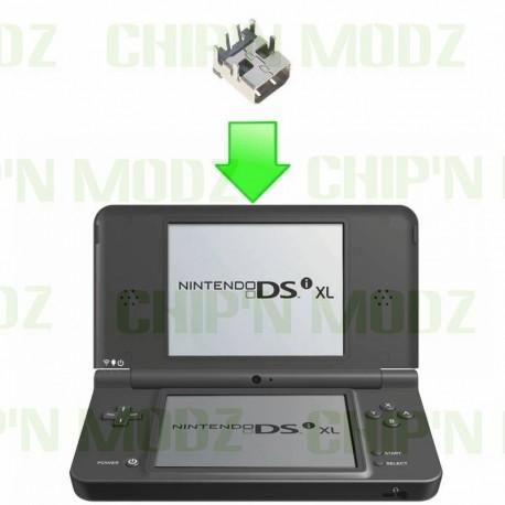 Réparation connecteur de charge DSi/DSi XL