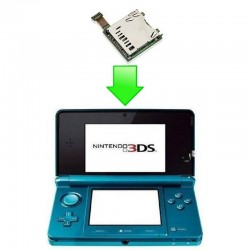 Réparation Port / Lecteur carte SD - Nintendo 3DS