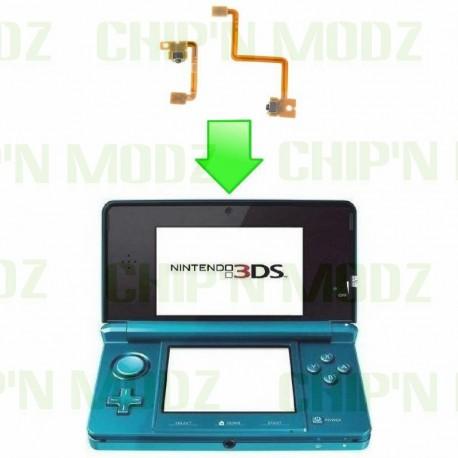 Réparation gachettes L &R Nintendo 3DS