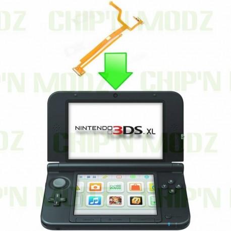 Réparation nappe bouton 3D/Haut parleur 3DS XL