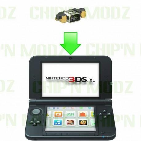 Réparation connecteur de charge 3DS / 3DS XL