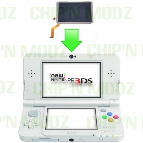 Réparation écran LCD supérieur new 3DS