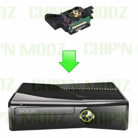 Réparation Bloc Optique Xbox 360S