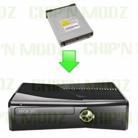 Réparation lecteur Xbox 360