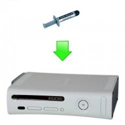 Remplacement pâte thermique Xbox 360 (Phat & Slim)