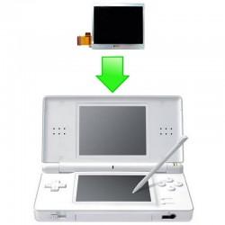 Réparation écran LCD inférieur DS Lite