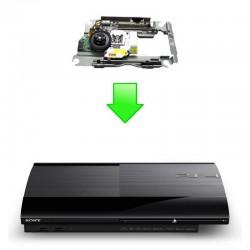 Réparation bloc optique+chariot lecteur PS3 Uslim (4k)