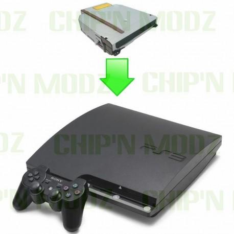 Réparation lecteur complet PS3
