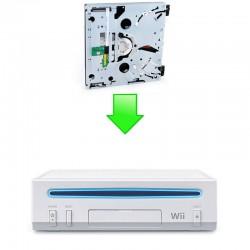 Réparation complet lecteur Wii